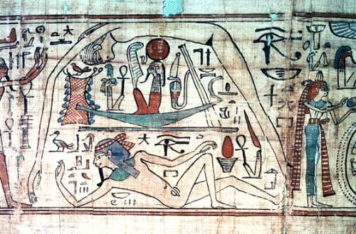 Nut madre de 5 dioses egipcios